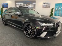 USED 2015 65 AUDI A6 4.0 RS6 AVANT TFSI V8 QUATTRO 5d AUTO 553 BHP F/A/S/H, HUGE SPEC, IMMACULATE