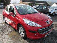 USED 2009 09 PEUGEOT 207 1.6 S HDI 5d 90 BHP LOW MILEAGE LOW TAX SERVICE HISTORY