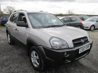 USED 2007 57 HYUNDAI TUCSON 2.0 GSI 2WD 5d 140 BHP FOUR NEW TYRES JUST HAD FULL SERVICE