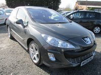 USED 2009 09 PEUGEOT 308 1.6 SPORT HDI 3d 108 BHP LOW MILEAGE SERVICE HISTORY
