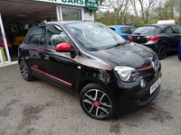 USED 2015 65 RENAULT TWINGO 0.9 DYNAMIQUE S ENERGY TCE S/S 5d 90 BHP Full Service History (Renault + ourselves), One Owner from new, MOT until November 2019, Great fuel economy! ZERO Road Tax! Low Insurance Group!