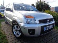 2010 FORD FUSION 1.6 ZETEC 5d AUTO 100 BHP £3489.00