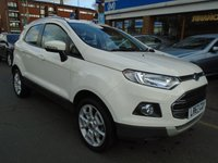 USED 2017 67 FORD ECOSPORT 1.0 TITANIUM 5d 124 BHP GREAT FINANCE DEALS AVAILABLE