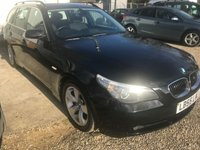 2006 BMW 5 SERIES 2.5 525D SE TOURING 5d 175 BHP IN BLACK WITH 148000 MILES IN GOOD CONDITION(TRADE CLEARANCE) £1999.00