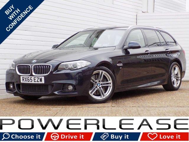 USED 2016 65 BMW 5 SERIES 3.0 530D M SPORT TOURING 5d AUTO 255 BHP HEATED SEATS SAT NAV P/SENSORS