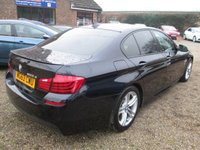 USED 2013 63 BMW 5 SERIES 2.0 520D M SPORT 4d AUTO 181 BHP M SPORT AERODYNAMIC BODY KIT