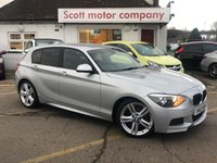 2012 BMW 1 SERIES 2.0 116D M Sport 5 door £9199.00