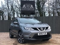 USED 2016 16 NISSAN QASHQAI 1.5 DCI TEKNA 5dr 1 Year Parts & Labour Warranty