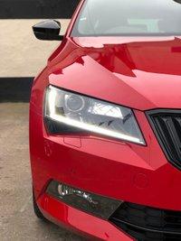 USED 2018 68 SKODA SUPERB 2.0 TDi CR SPORTLINE ESTATE  5DR 150 BHP, SKODA WARRANTY UNTIL 10/12/2021 SAT NAV, APPLE CAR PLAY & FRONT/REAR PARKING SENSORS