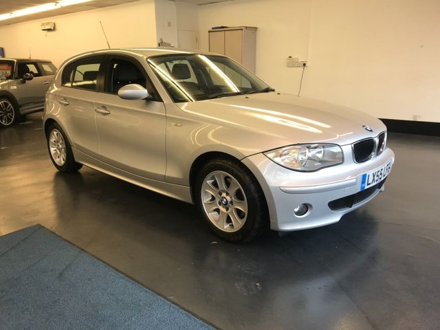 USED 2006 55 BMW 1 SERIES 2.0 120D SE 5d AUTO 161 BHP FULL LEATHER SEATS, NEW 12 MONTH MOT