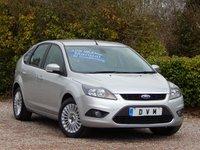 2010 FORD FOCUS 1.6 TITANIUM 5d 99 BHP £4970.00