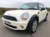 2009 MINI HATCH FIRST 1.4 FIRST 3d 75 BHP £2795.00