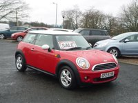 USED 2010 MINI HATCH FIRST 1.6 FIRST 3d 75 BHP
