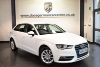 USED 2016 65 AUDI A3 1.2 TFSI SE 5DR AUTO 109 BHP full service history *NO ADMIN FEES* FINISHED IN STUNNING IBIS WHITE WITH CLOTH UPHOLSTERY + FULL SERVICE HISTORY + SATELLITE NAVIGATION + BLUETOOTH + HEATED SPORT SEATS + HEATED ELECTRIC MIRRORS + MULTI FUNCTION STEERING WHEEL + 16 INCH ALLOY WHEELS