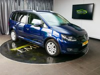 USED 2014 14 VOLKSWAGEN TOURAN 1.6 SE TDI BLUEMOTION TECHNOLOGY DSG 5d AUTO 106 BHP £0 DEPOSIT FINANCE AVAILABLE, 7 SEATS, AIR CONDITIONING, AUTOMATIC HEADLIGHTS, CLIMATE CONTROL, CRUISE CONTROL, DAB RADIO, FULL CREAM UPHOLSTERY, PARKING SENSORS, START/STOP SYSTEM, STEERING WHEEL CONTROLS, TRIP COMPUTER