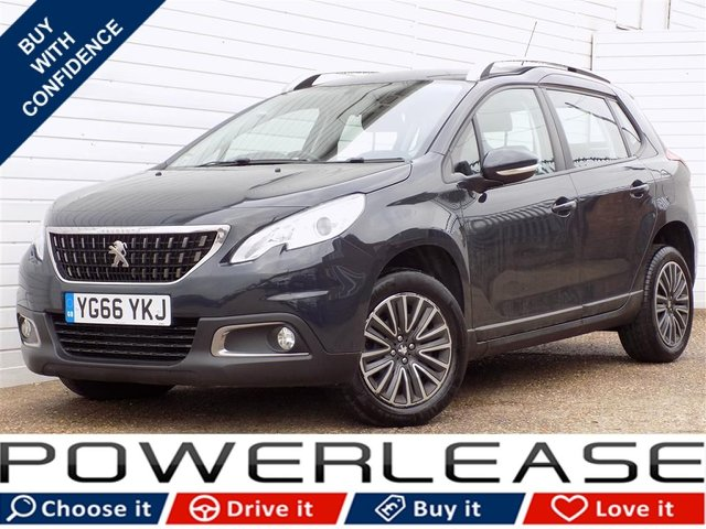 USED 2016 66 PEUGEOT 2008 1.2 PURETECH S/S ACTIVE 5d AUTO 82 BHP 20 POUND TAX FULL HISTORY