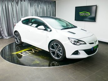 2015 VAUXHALL ASTRA 1.4 GTC LIMITED EDITION S/S 3d 118 BHP £8700.00