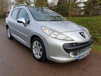 USED 2009 09 PEUGEOT 207 1.6 SW SPORT HDI 5d 90 BHP **£30 ROAD FUND**SUPERB DRIVE**FULL HISTORY**