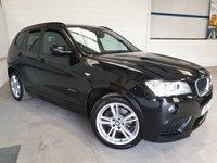 2013 BMW X3 2.0 XDRIVE20D M SPORT 5d AUTO 181 BHP £14500.00