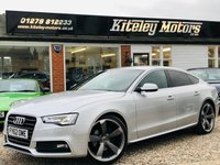 USED 2012 62 AUDI A5 3.0 SPORTBACK TDI SE AUTOMATIC TECHNOLOGY PACK & LEATHER