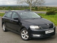 USED 2014 14 SKODA RAPID 1.6 SPACEBACK SE TDI CR 5d 89 BHP BUY NOW, PAY NOTHING FOR 2 MTH