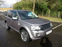 USED 2014 14 LAND ROVER FREELANDER 2.2 SD4 HSE LUXURY 5d AUTO 190 BHP WAS £15,995 NOW ONLY £15,495 !!
