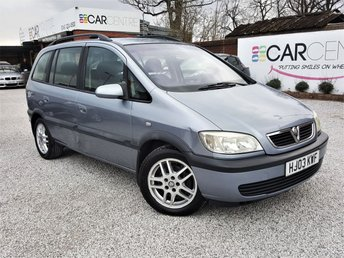 View our 2003 03 VAUXHALL ZAFIRA 1.8 DESIGN 16V 5d 124 BHP