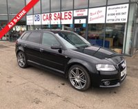 USED 2013 13 AUDI A3 1.6 TDI S LINE 5d 103 BHP NO DEPOSIT AVAILABLE, DRIVE AWAY TODAY!!