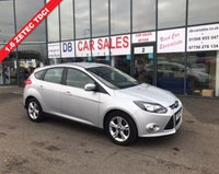 USED 2013 13 FORD FOCUS 1.6 ZETEC TDCI 5d 113 BHP NO DEPOSIT AVAILABLE, DRIVE AWAY TODAY!!