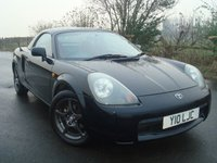 2002 TOYOTA MR2 1.8 ROADSTER HARD TOP 2d 138 BHP £1995.00