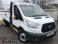 USED 2014 64 FORD TRANSIT 350 LWB 350 RWD 2.2 125 BHP 14.5  ALLOY DROPSIDE**OVER 75 VANS IN STOCK**