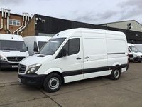 USED 2016 16 MERCEDES-BENZ SPRINTER 2.1 313CDI MWB HIGH ROOF 130BHP. LOW 47,000 MILES. FSH.  47,000 MILES. FSH. 1 OWNER. WARRANTY. PX WELCOME
