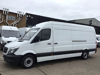 2015 MERCEDES-BENZ SPRINTER 2.1 313CDI LWB HIGH ROOF 130BHP. 92K. 1 OWNER. FINANCE.  £10490.00