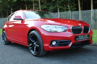 USED 2015 65 BMW 1 SERIES 2.0 118D SPORT 5d 147 BHP A ONE OWNER NEW SHAPE 1 SERIES WITH BMW HISTORY AT AN EXCELLENT PRICE!!!
