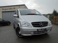 2014 MERCEDES-BENZ VITO 2.1 113 CDI TRAVELINER 5d AUTO 136 BHP £16995.00