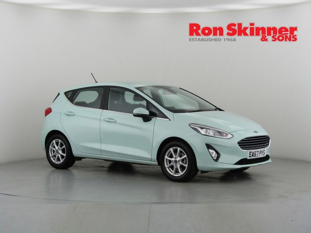View our 2017 67 FORD FIESTA 1.0 B AND O PLAY ZETEC 5d 99 BHP