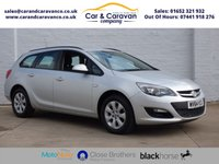 USED 2014 64 VAUXHALL ASTRA 1.6 DESIGN CDTI ECOFLEX S/S 5d 108 BHP One Owner Service History A/C Buy Now, Pay Later Finance!