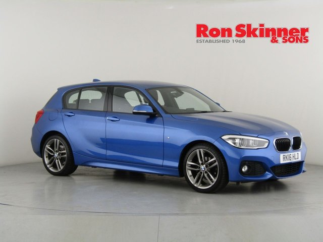 View our 2016 16 BMW 1 SERIES 2.0 118D M SPORT 5d 147 BHP