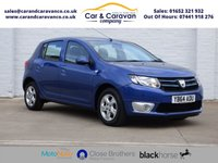 USED 2015 64 DACIA SANDERO 1.5 LAUREATE DCI 5d 90 BHP Full Service History SATNAV A/C Buy Now, Pay Later Finance!