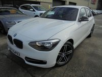 USED 2015 BMW 1 SERIES 2.0 116D SPORT 5d 114 BHP Excellent Condition, No Deposit Required, Part Exchange Welcomed
