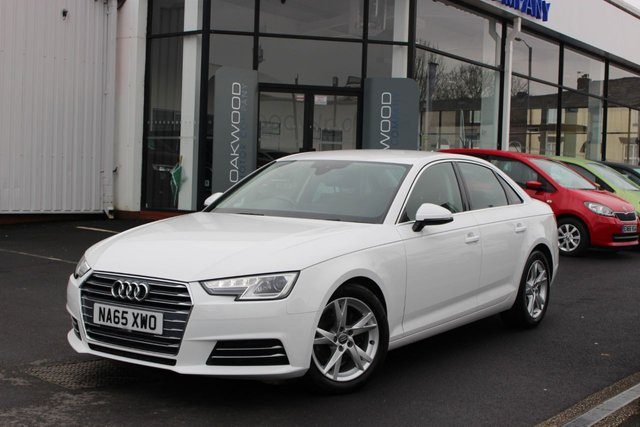 USED 2015 65 AUDI A4 2.0 TDI ultra Sport (s/s) 4dr