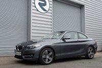 2014 BMW 2 SERIES 2.0 220D SPORT AUTO 2DR 181 BHP £11400.00