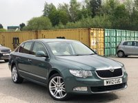USED 2012 12 SKODA SUPERB 2.0 TDI CR DPF Elegance (L&K Luxury Pack) DSG 5dr DSG/Xenon/Leather/Bluetooth