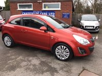 USED 2011 61 VAUXHALL CORSA 1.2 EXCITE AC 3d 83 BHP ONLY 53K MILES 6 STAMPS