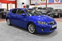 USED 2012 12 LEXUS CT 1.8 200H SE-L 5d AUTO 136 BHP