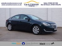 USED 2015 64 VAUXHALL INSIGNIA 2.0 DESIGN CDTI ECOFLEX S/S 5d 160 BHP One Owner Full Service History Buy Now, Pay Later Finance!