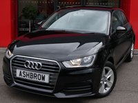 USED 2015 65 AUDI A1 1.6 TDI SE 3d 115 S/S £0 ROAD TAX (92 G/KM), MANUAL 5 SPEED GEARBOX, START STOP TECHNOLOGY, DAB RADIO, AUX INPUT, COLOUR CODED EXTERIOR, 15 INCH 5 SPOKE ALLOYS, REAR SPOILER, GREY CLOTH INTERIOR, ELECTRIC WINDOWS, ELECTRIC HEATED DOOR MIRROR, REMOTE CENTRAL LOCKING, AIR CONDITIONING, CD HIFI WITH SD CARD READER, TYRE PRESSURE MONITORING SYSTEM, ISO FIX, FOLDING REAR SEATS, AIRBAGS. SERVICE HISTORY, VAT QUALIFYING