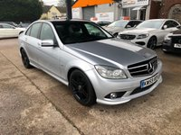 2010 MERCEDES-BENZ C-CLASS 2.1 C220 CDI BLUEEFFICIENCY SPORT 4d 170 BHP £6450.00