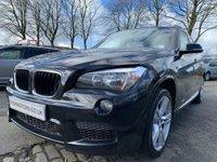 USED 2013 13 BMW X1 2.0 XDRIVE20D M SPORT 5d 181BHP FSH+DAB RADIO+BLUETOOTH+CRUISE+