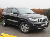 USED 2011 61 JEEP GRAND CHEROKEE 3.0 V6 CRD LIMITED 5d AUTO SATELLITE NAVIGATION * BLUETOOTH * FULL HEATED LEATHER INTERIOR
